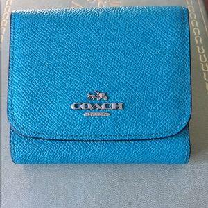 Genuine COACH Teal Wallet